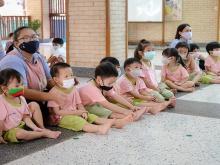 ตรวจสุขภาพนักเรียน ครั้งที่ 2 (17 ก.พ.64)